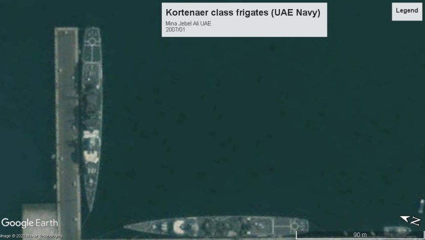 Kortenaer class frigates UAE 2007