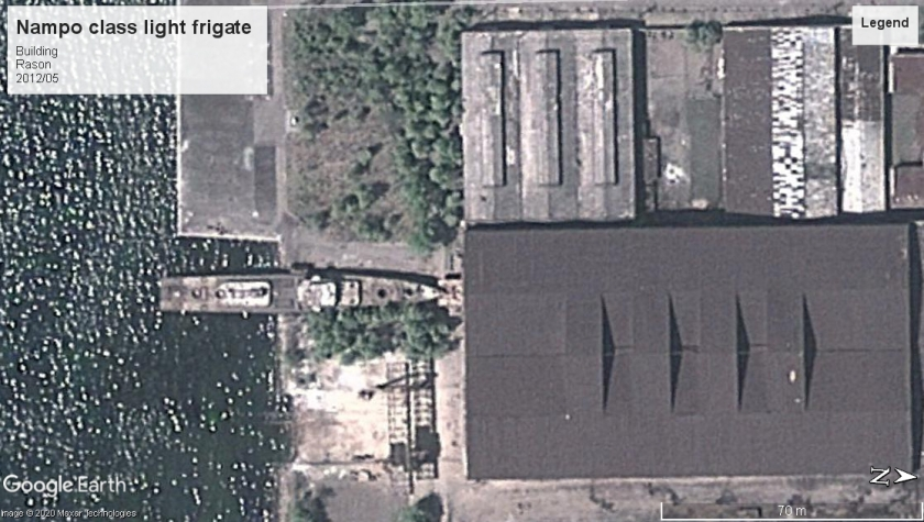 Nampo class Light frigate 2012 Rason North Korea