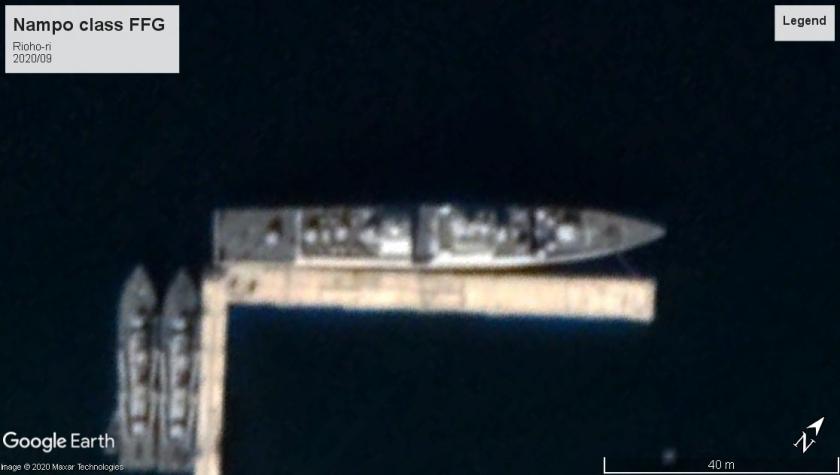 Nampo class Light frigate 2020 Rioho-ri North Korea