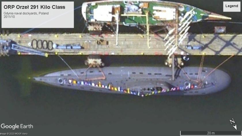 ORP Orzeł Kilo class Gdynia poland 2011