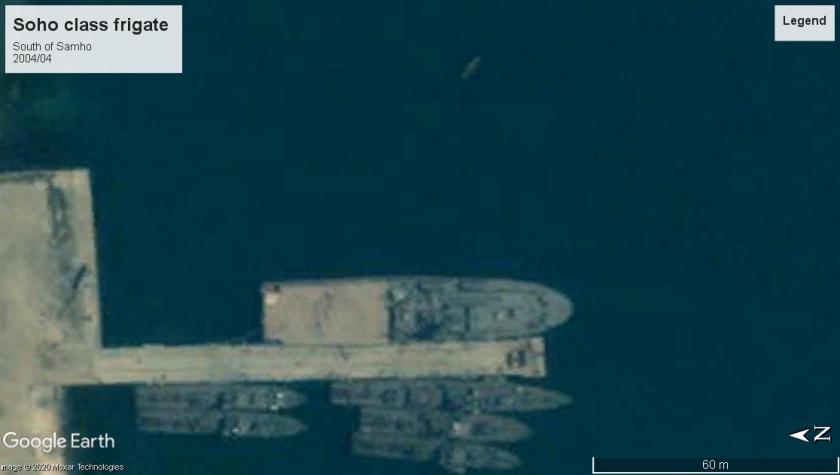 Soho class frigate Samho North Korea 2004