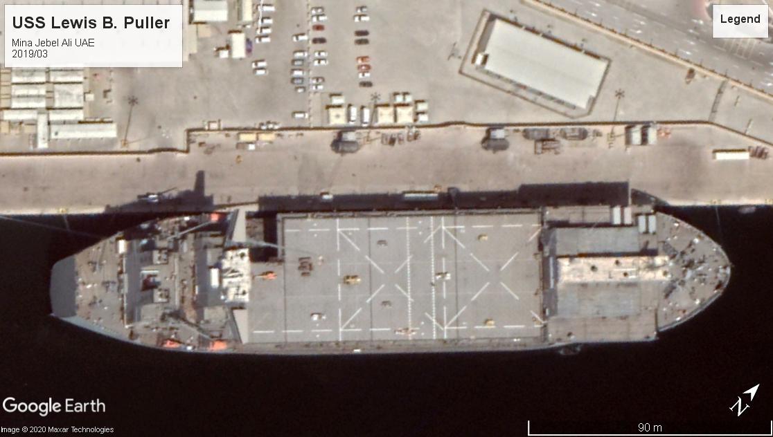 USS Lewis B. Puller ESB UAE 2019