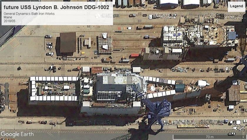 USS Lyndon B Johnson DDG-1002