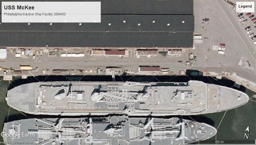 USS McKee Philedelphia 2004