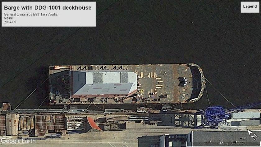 USS Michael Monsoor deckhouse DDG-1001 Maine 2014