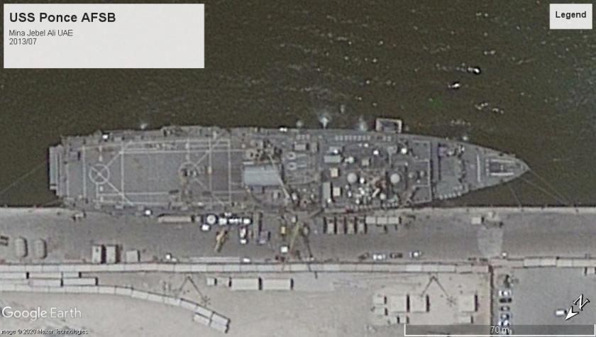 USS Ponce UAE 2013