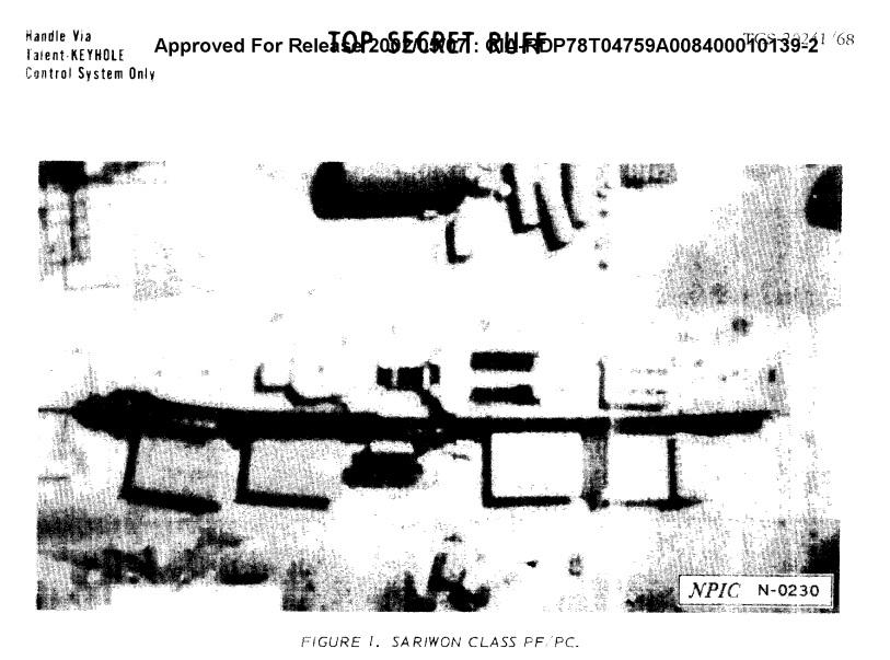 CIA report Sariwon class building