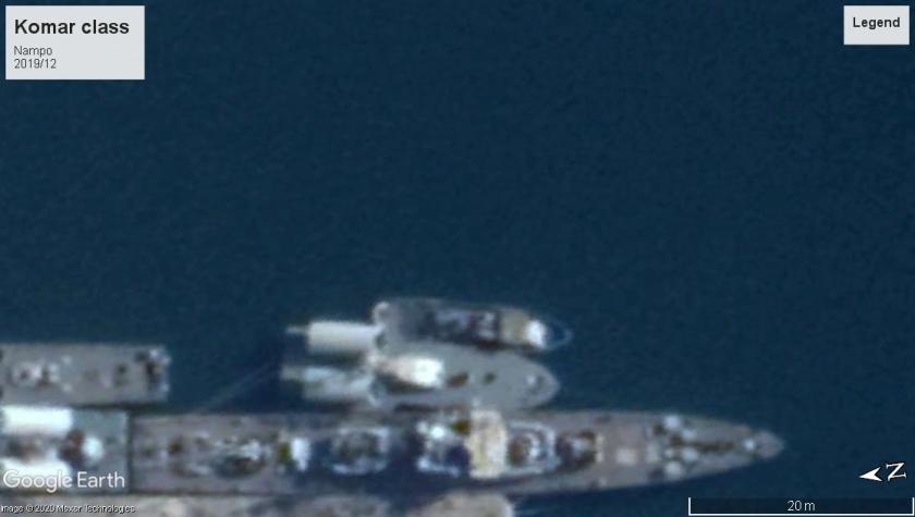 Komar Missile boat Nampo 2019