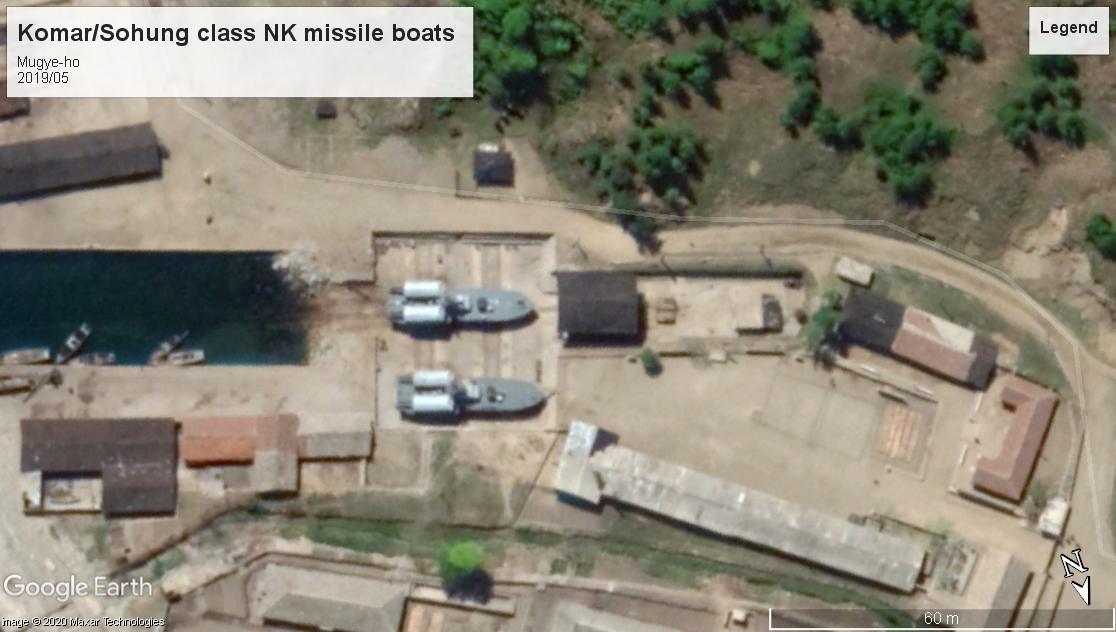 Komar Missile boats Mugye-ho NK 2019