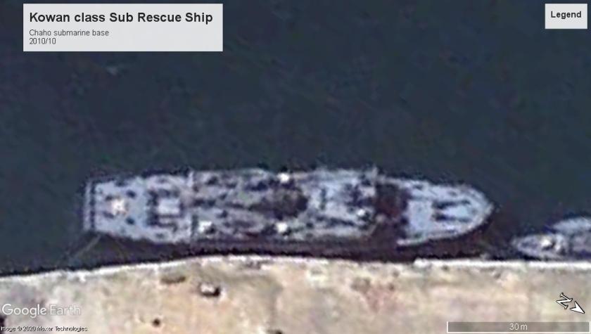 kowan class submarine rescue Chaho 2010