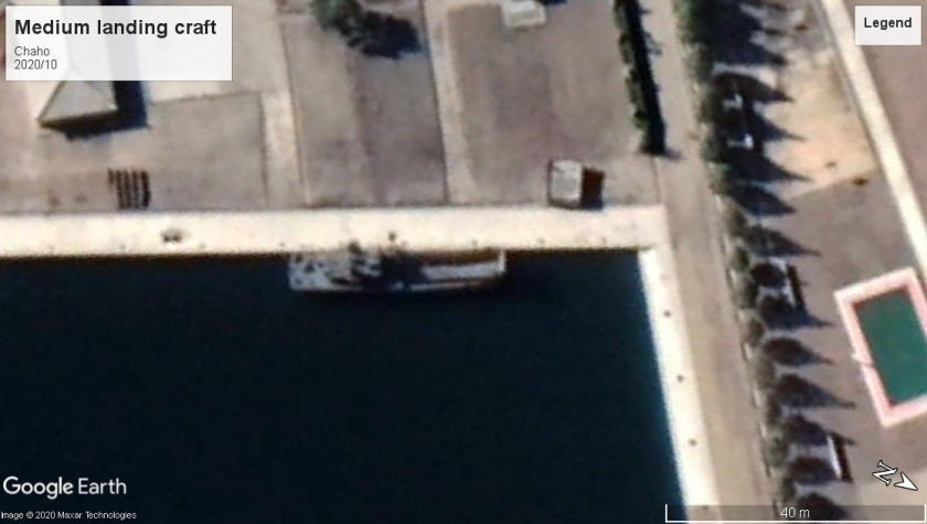Medium landing craft Chaho 2020