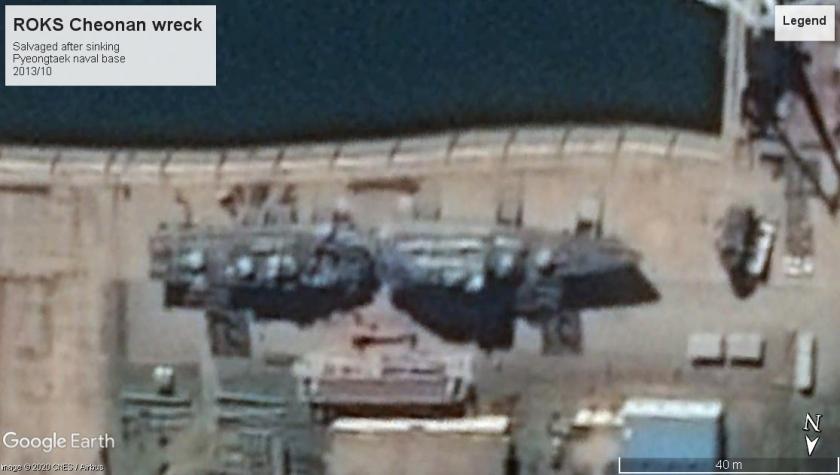 ROKS Cheonan wreck Pyeongtaek 2013