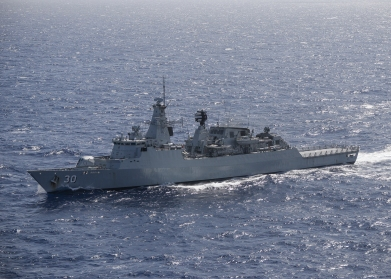 KD Lekiu transits the Pacific Ocean with multinational fleet during RIMPAC 2018