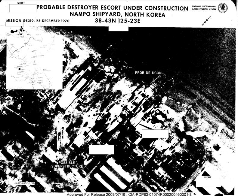 DE construction NAMPO NK CIA report 1970