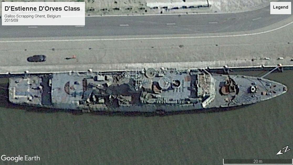 D'Estienne d'Orves Class scrap Ghent 2015