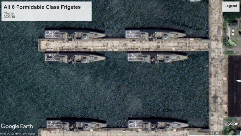 Formidable Class Frigates Changi 2020