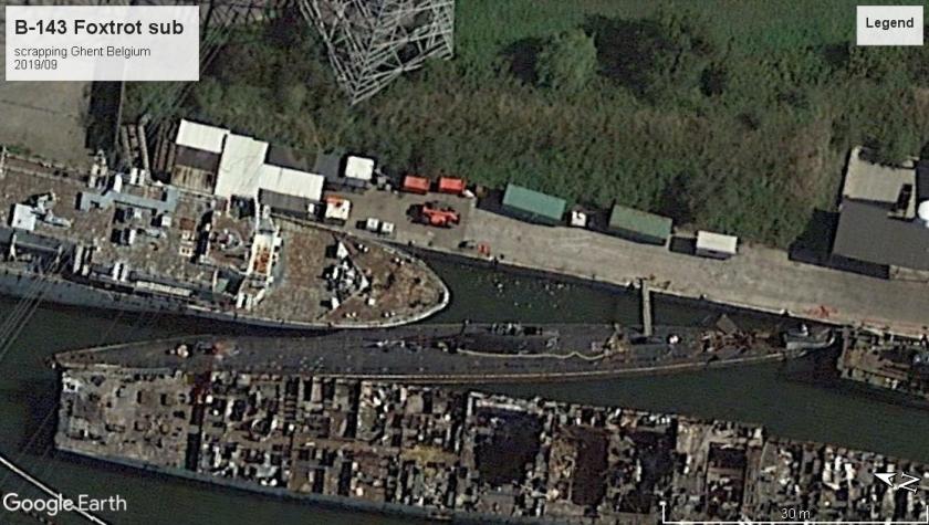 Foxtrot class scrap ghent 2019
