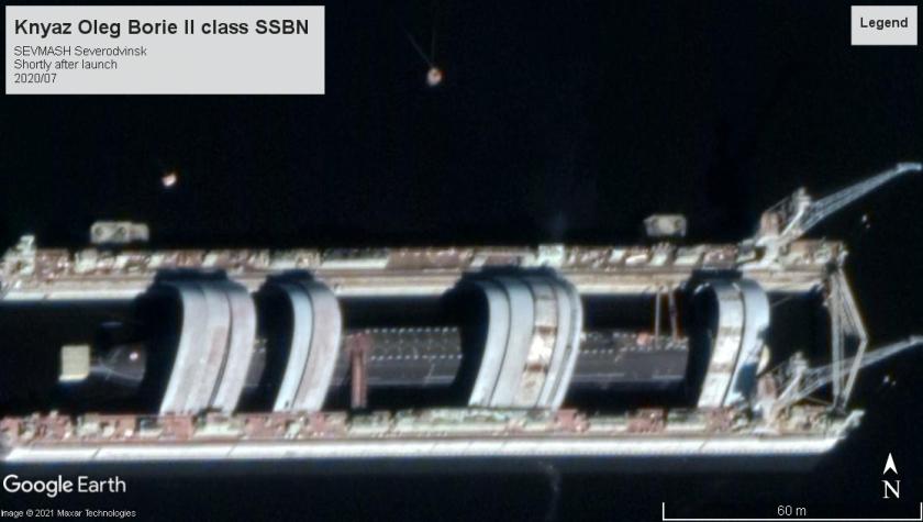 Knyaz Oleg Borie II class SSBN Severodvinsk 2020