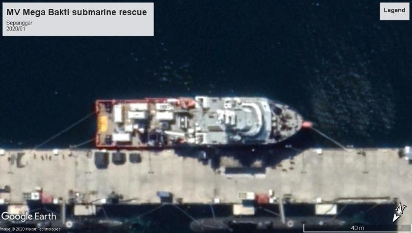 MV Mega Bakti sub rescue Sepanggar 2020