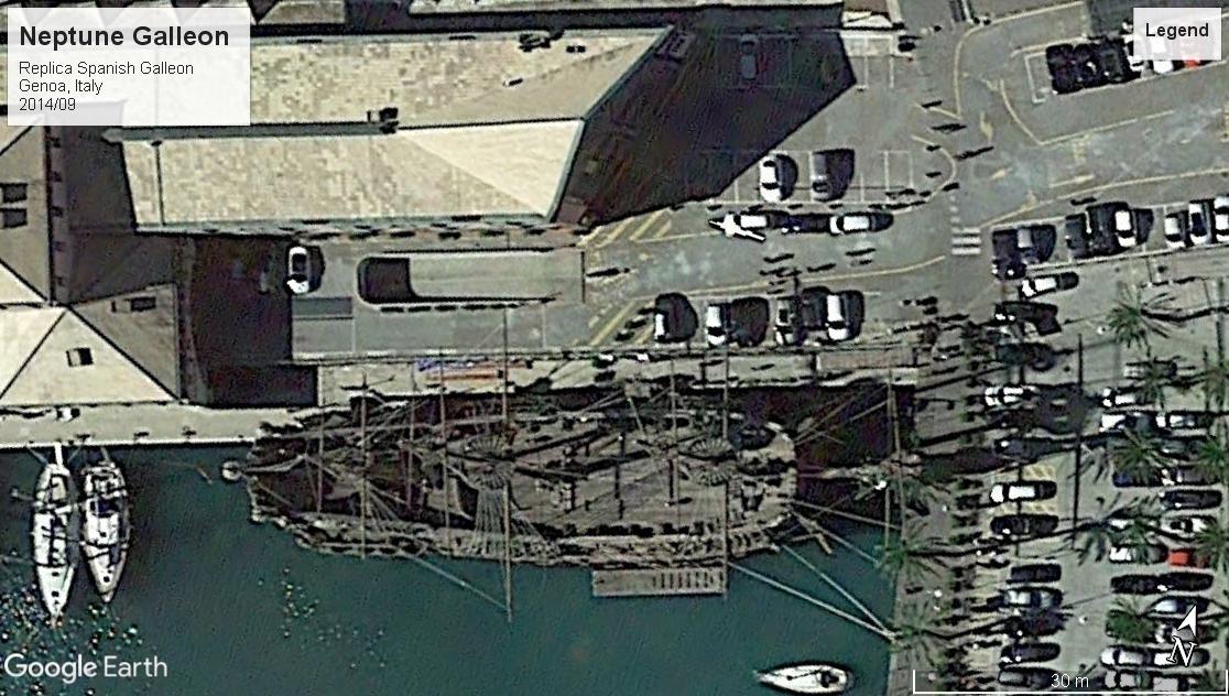 Neptune replica galleon Genoa 2014