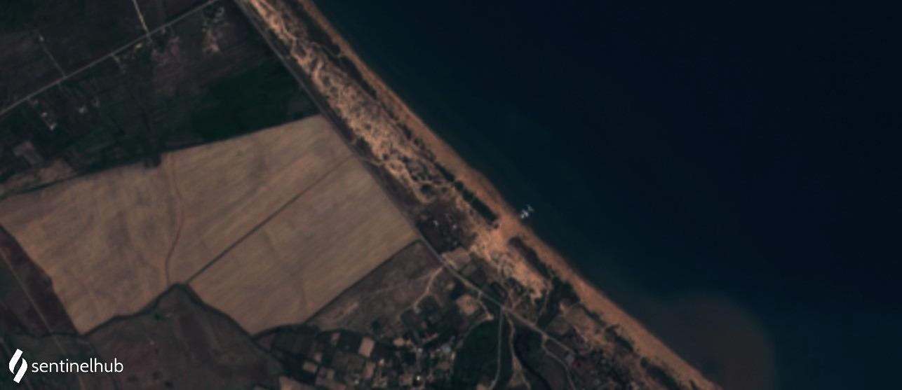 Sentinel-2 L1C image on 2020-08-31