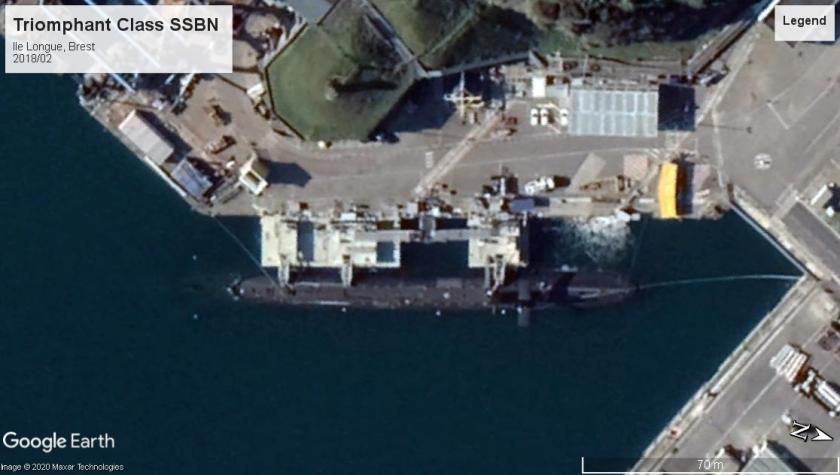 Triomphant SSBN Brest 2018