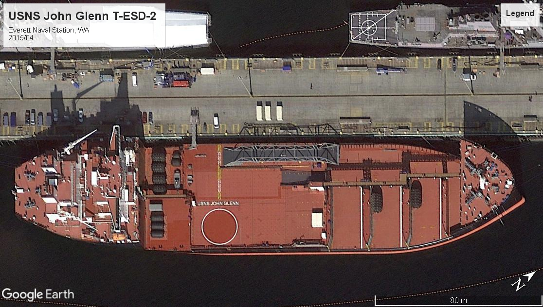 USNS John Glenn T-ESD-2 Everett 2015