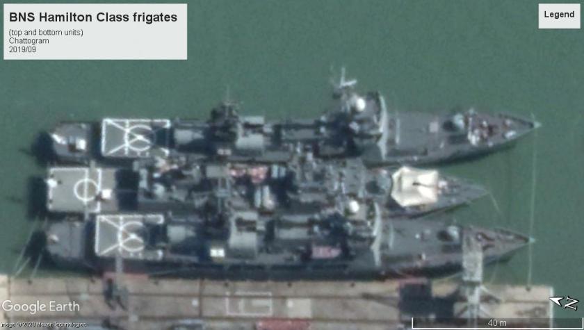 BNS hamilton class frigates Chittagong 2019