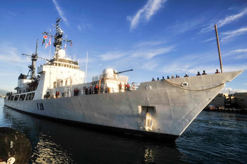 Somudra Joy arrives at Pearl Harbor