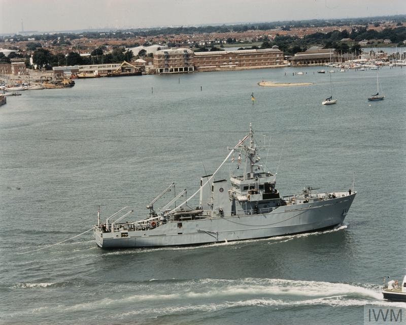 HMS Blackwater mine warfare paying off