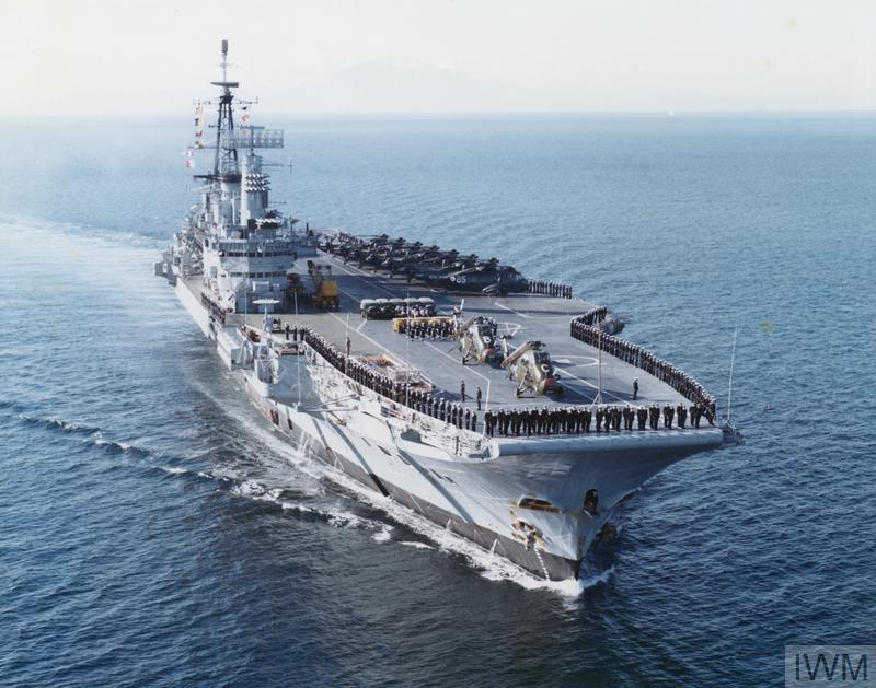 HMS Hermes IWM colour