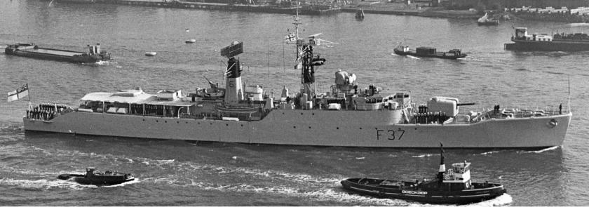 HMS Jaguar F-37 Dutch archives