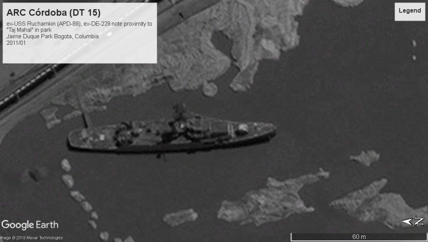 USS Ruchamkin (APD-89) Bagota 2011
