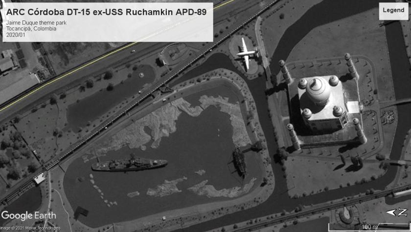 USS Ruchamkin (APD-89) Tocanipa 2011