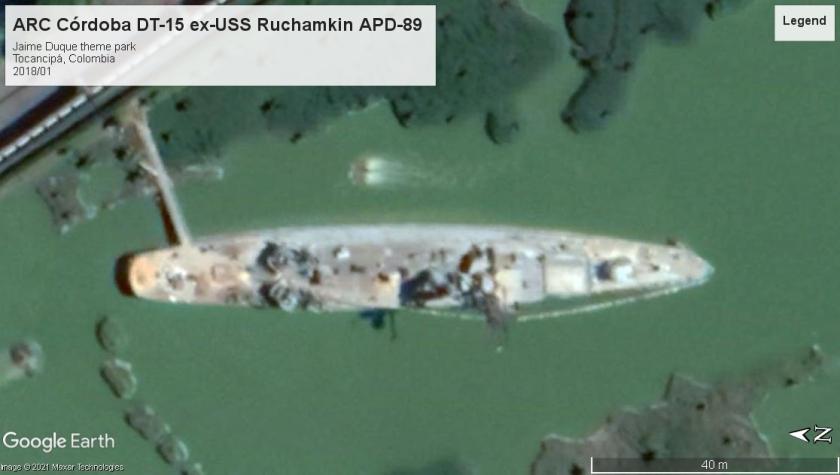USS Ruchamkin (APD-89) Tocanipa 2018