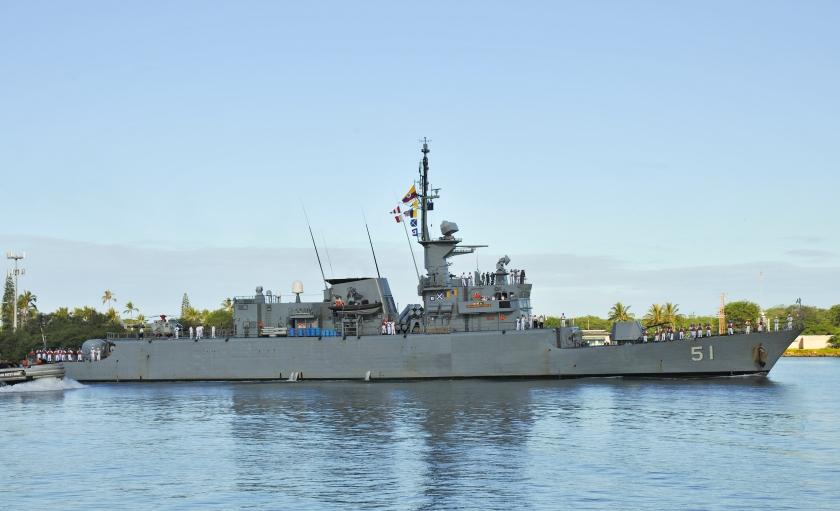 RIMPAC 2014 ship arrivals