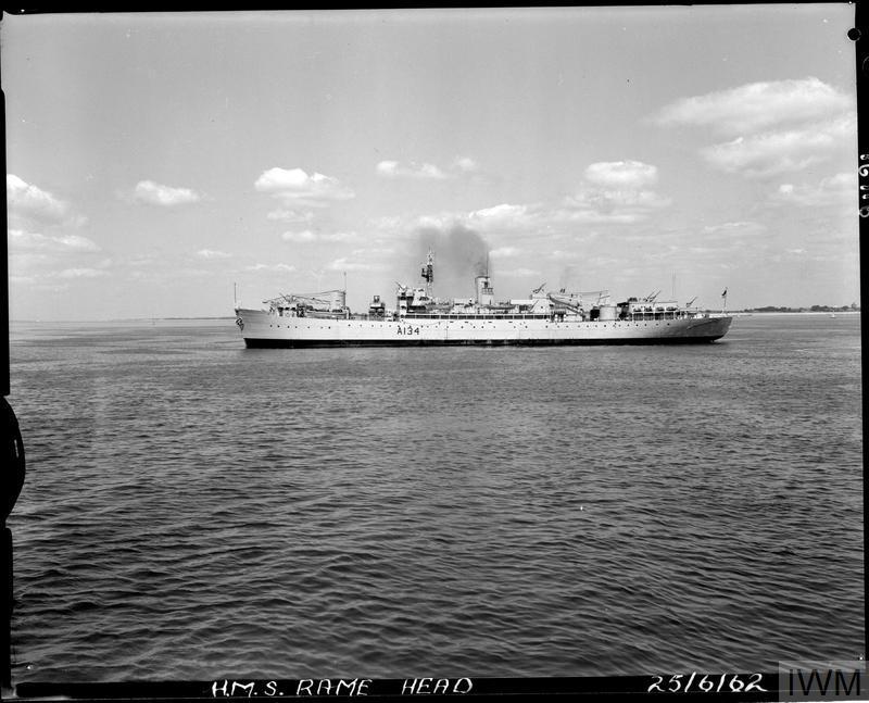 HMS Rame Head 1962 IWM FL image