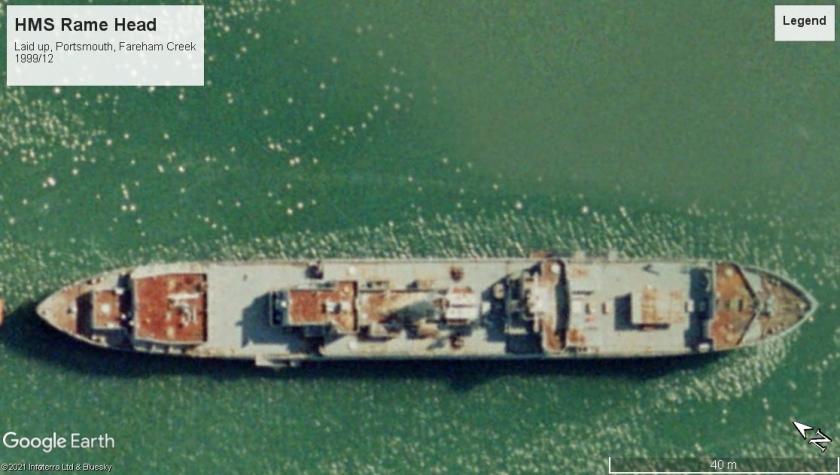 HMS Rame Head Portsmouth 1999