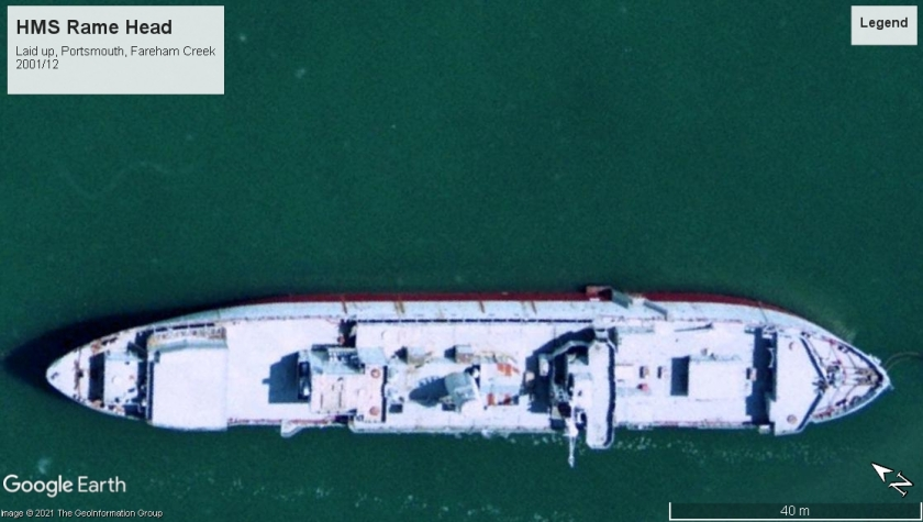 HMS Rame Head Portsmouth 2001