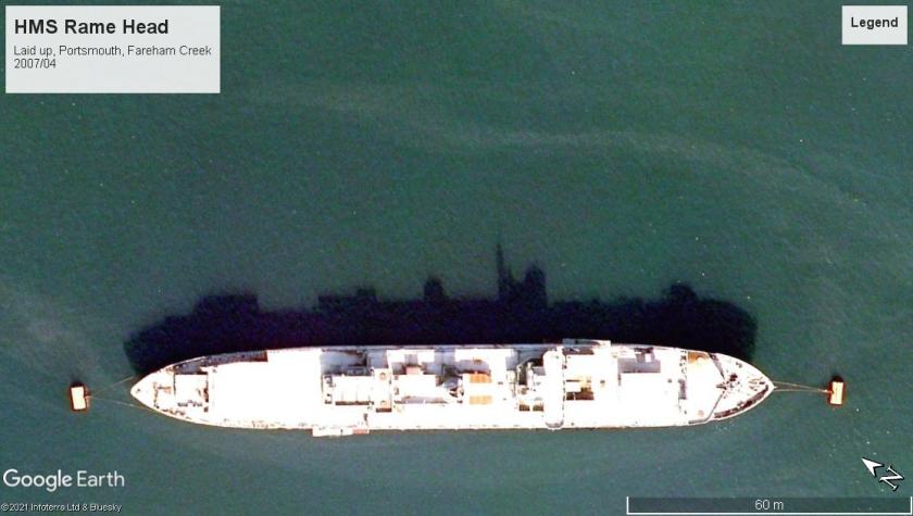 HMS Rame Head Portsmouth 2007