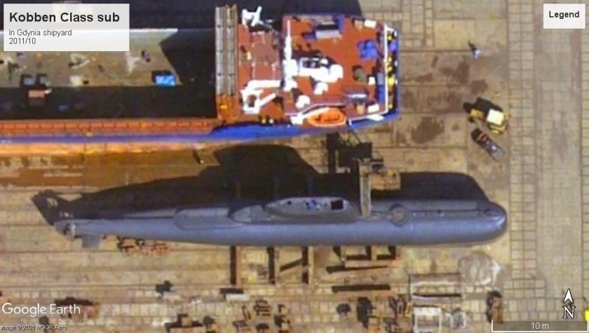 Kobben Class sub Gdynia 2011