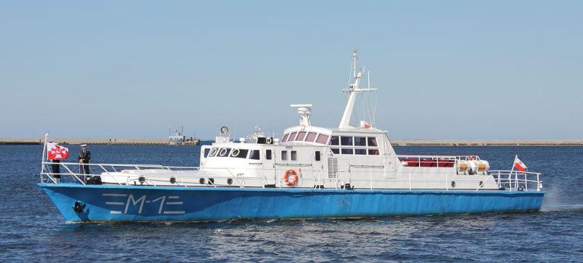 Motorboat_M-1,_Polish_Navy