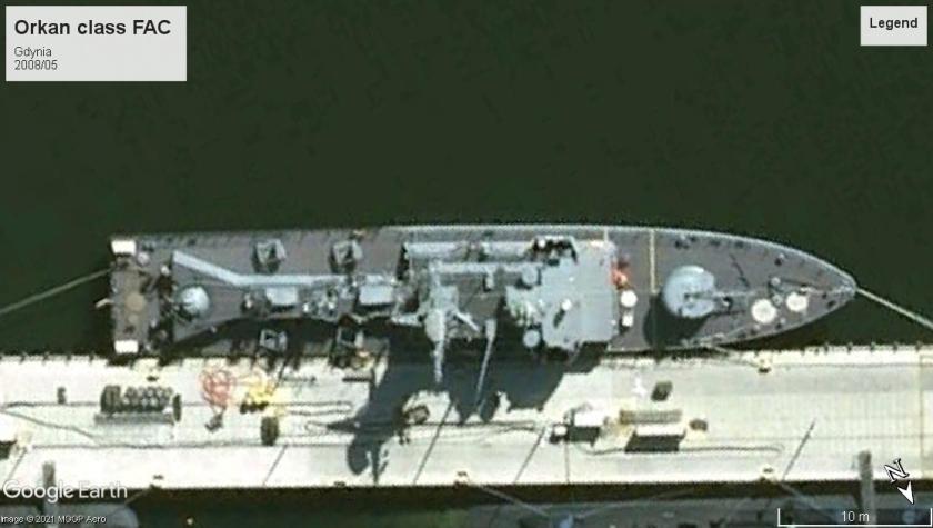 Orkan class FAC Gdynia 2008