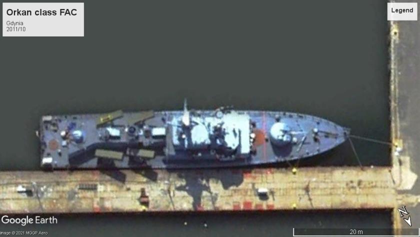 Orkan class FAC Gdynia 2011