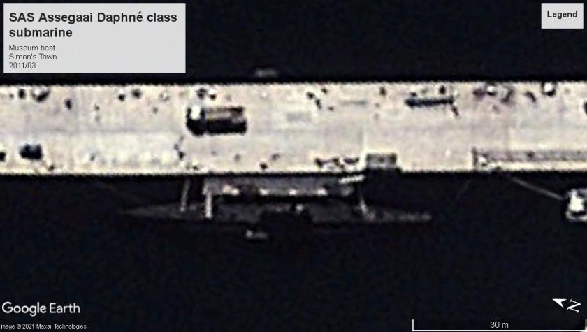 SAS Assegaai sub Simon's Town 2011