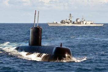 SAS Charlotte Maxeke with HMS Portland