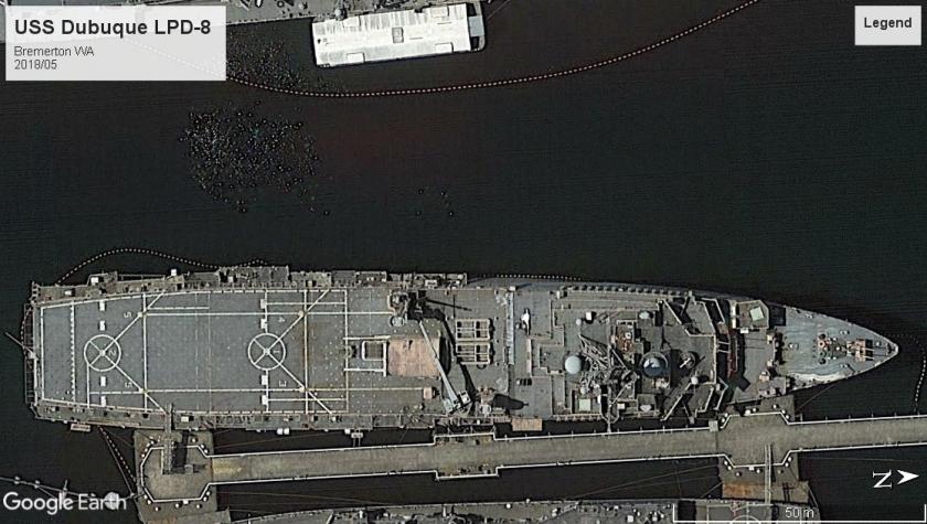 USS Dubuque LPD-8 Bremerton 2018
