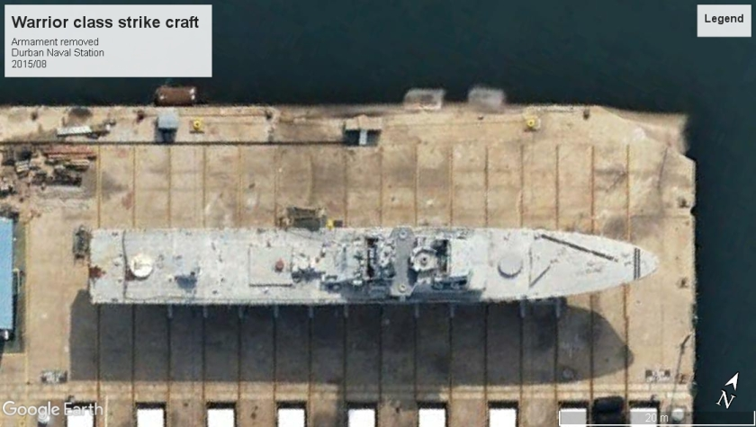 Warrior class strike craft Durban 2015