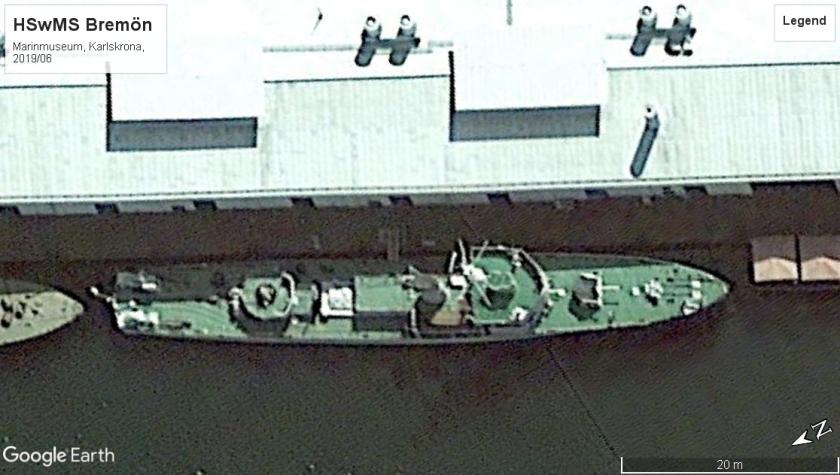 HMS Bremön Karlskrona 2019