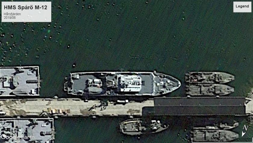 HMS Spårö Mine Harsfjarden 2019